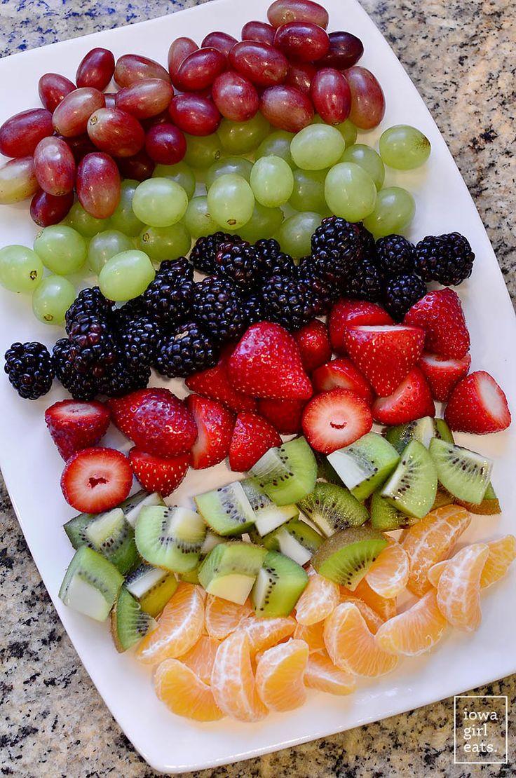Christmas Fruit Desserts  17 Best ideas about Fruit Christmas Tree on Pinterest