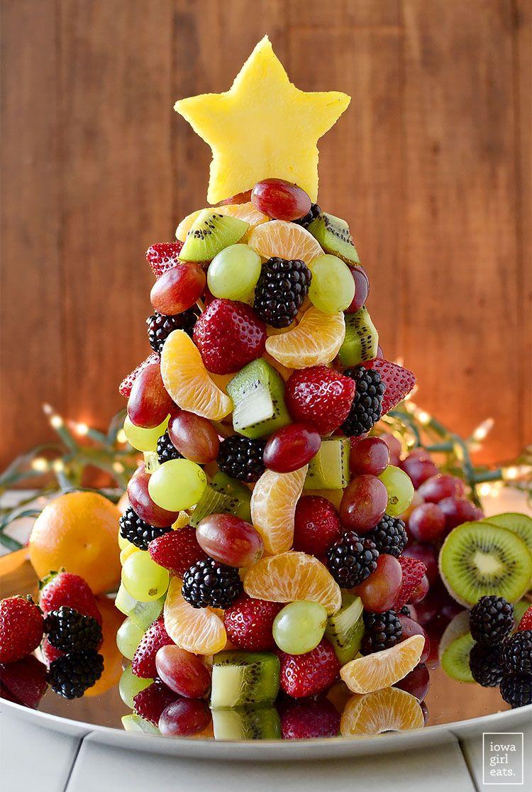 Christmas Fruit Desserts  Fruit Christmas Tree Recipe Christmas