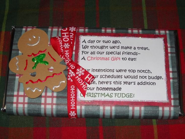 Christmas Fudge Gifts  Christmas Candy Quotes QuotesGram