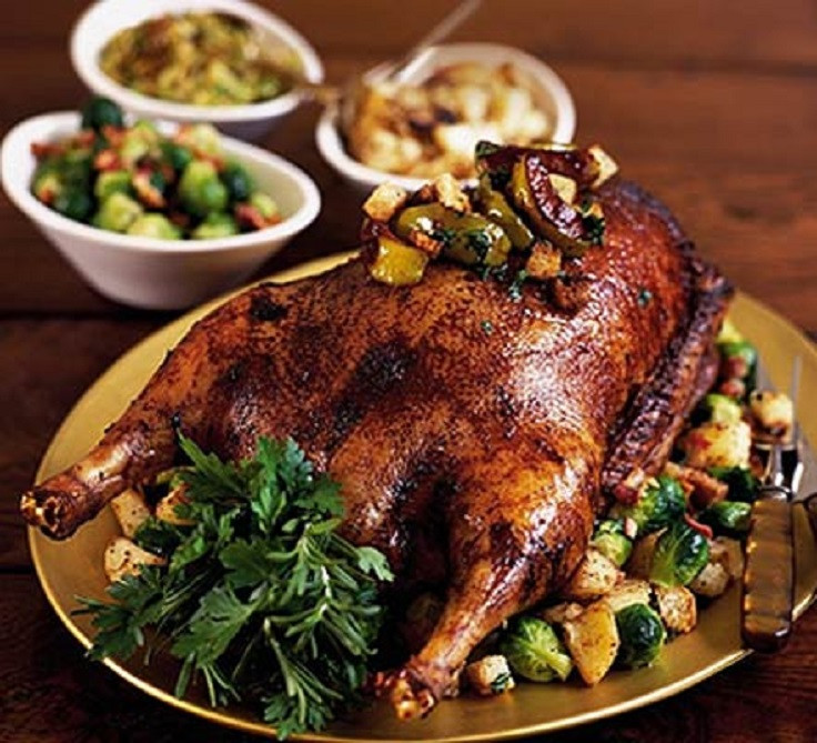 Christmas Goose Dinner  Top 10 Recipes for an Amazing Christmas Dinner Top Inspired