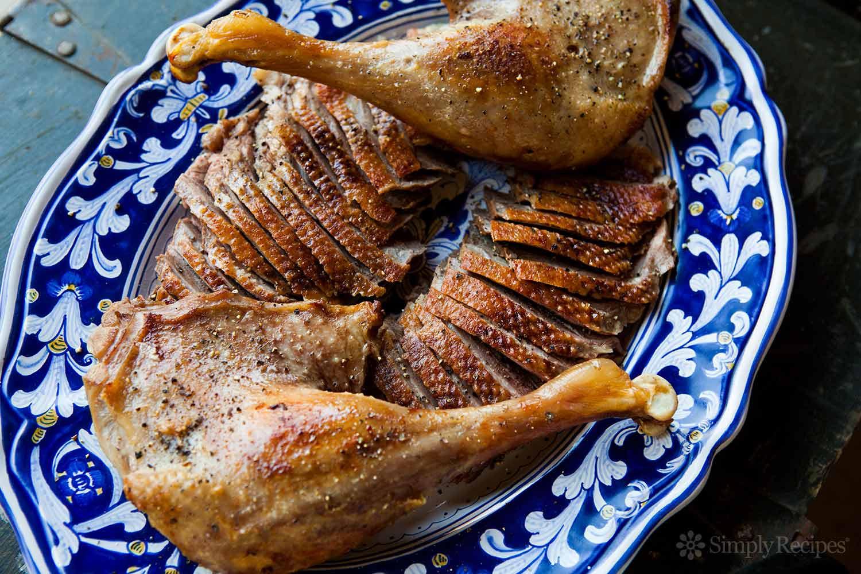 Christmas Goose Dinner  Roast Goose Recipe How to Roast a Goose