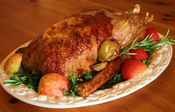 Christmas Goose Recipes  Roast Goose With Apples Recipe Food