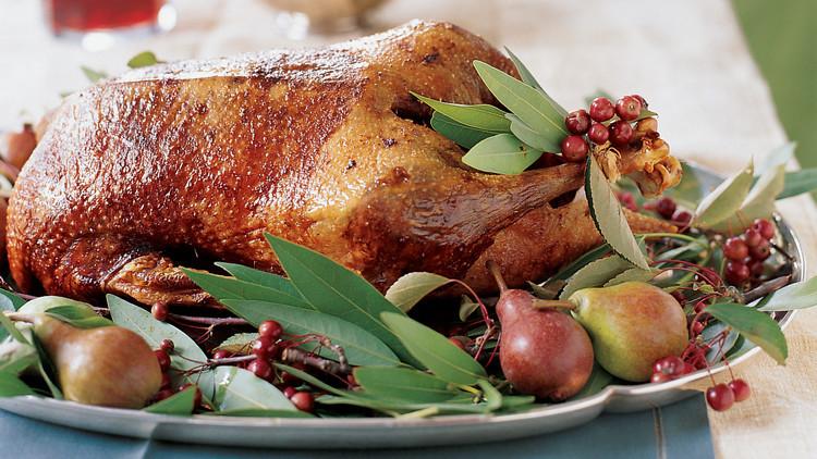 Christmas Goose Recipes  Roast Goose