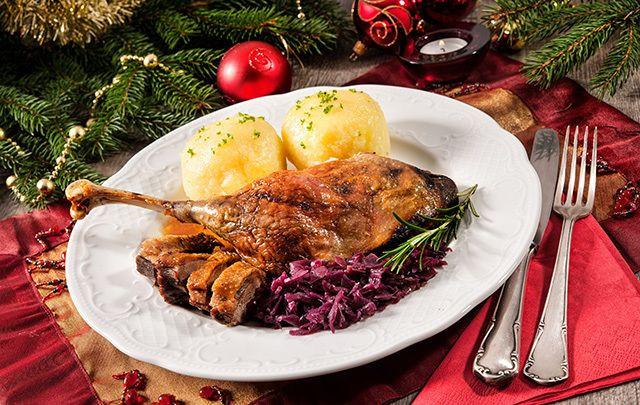 Christmas Goose Recipes  Sick of turkey Try this Christmas roast goose recipe