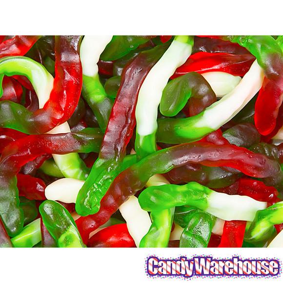 Christmas Gummy Candy  Christmas Gummy Worms Candy 5LB Bag
