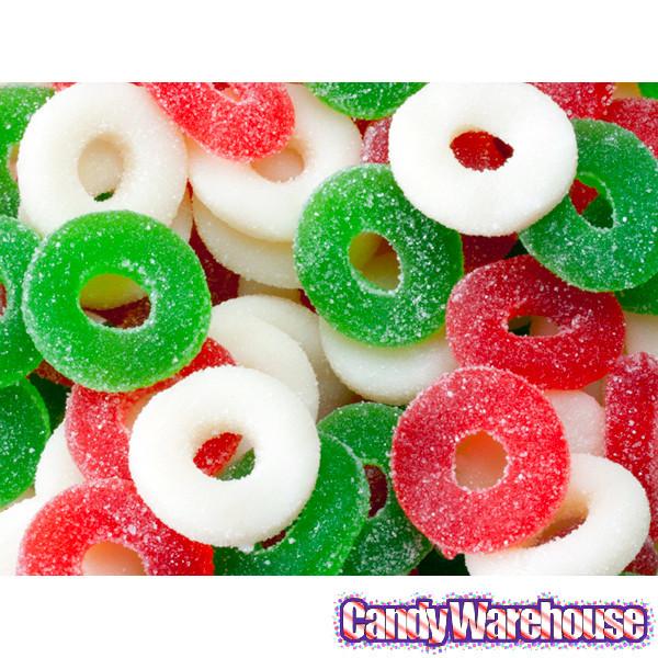 Christmas Gummy Candy  Gummy Christmas Wreaths Candy 4 5LB Bag