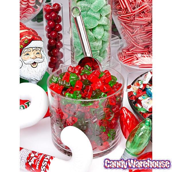 Christmas Gummy Candy  Haribo Christmas Gold Bears Gummy Bears Candy 3LB Box
