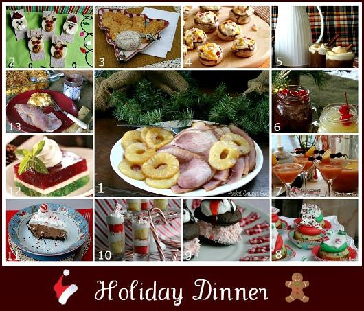 Christmas Ham Dinner  Holiday Dinner Menu