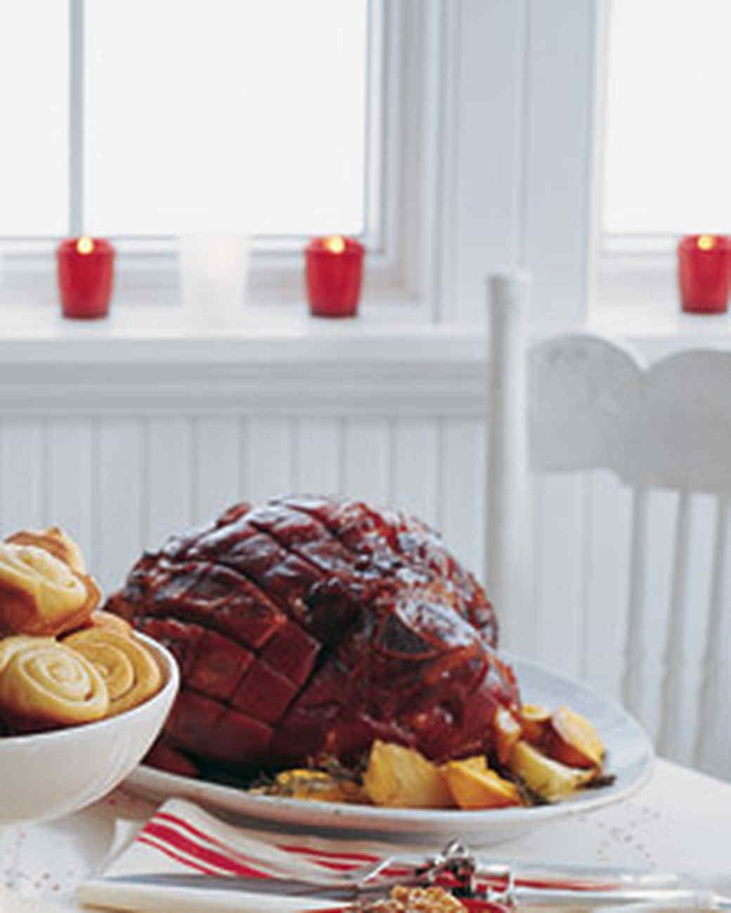 Christmas Ham Dinner  Honey Orange Baked Ham