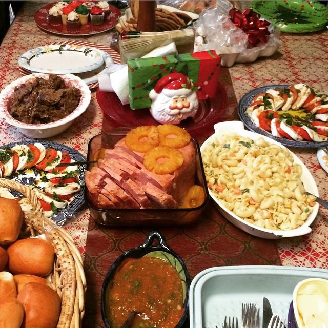 Christmas Ham Dinner  Christmas Roast and Ham Dinner Had Tamales for Christmas