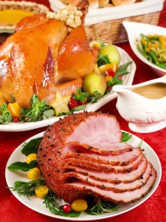 Christmas Ham Dinner Menu  Church to host ham and turkey dinner