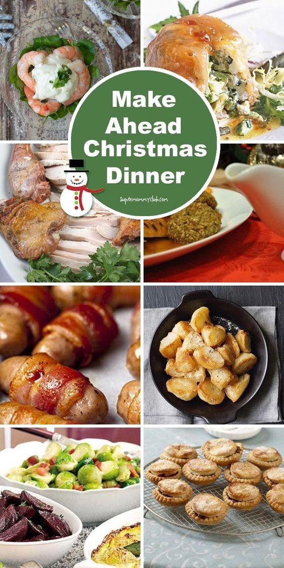 Christmas Ham Dinner Menu  Make Ahead Christmas Dinner 8 Recipes You Can Make in