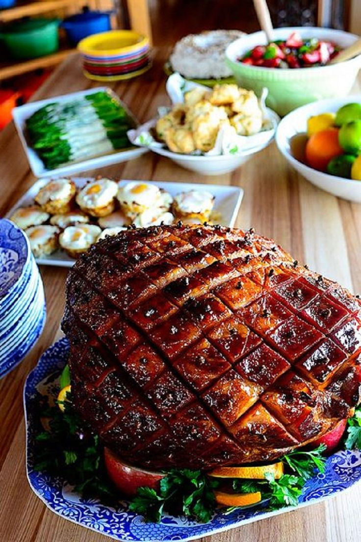 Christmas Ham Dinners  17 Best images about Pork on Pinterest