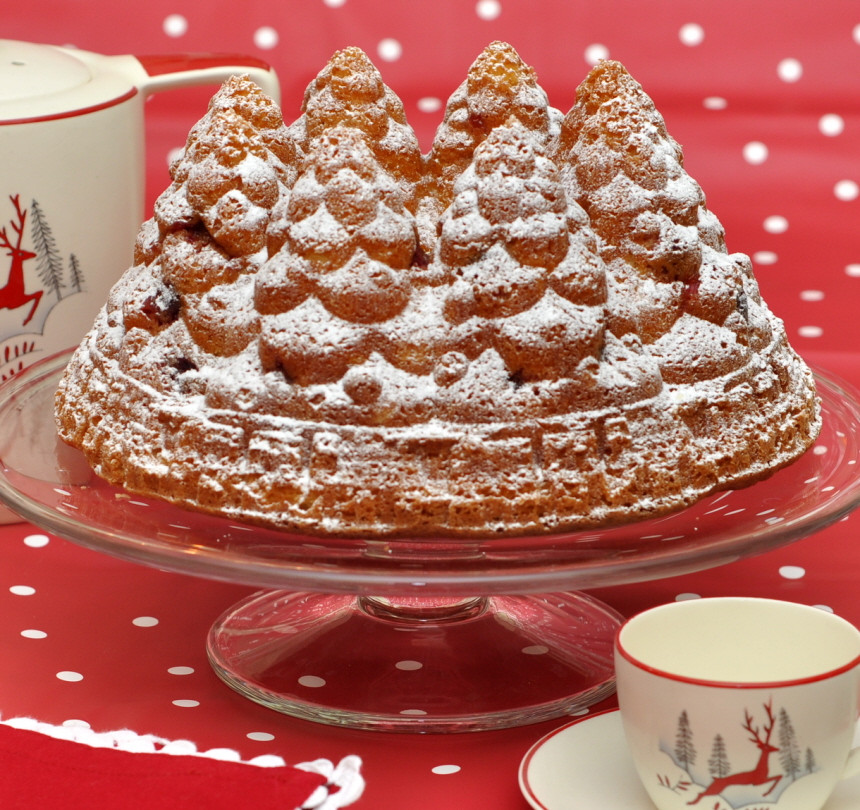 Christmas Holiday Cakes  Christmas Holiday Fir Tree Bundt Cake – from the sweet kitchen