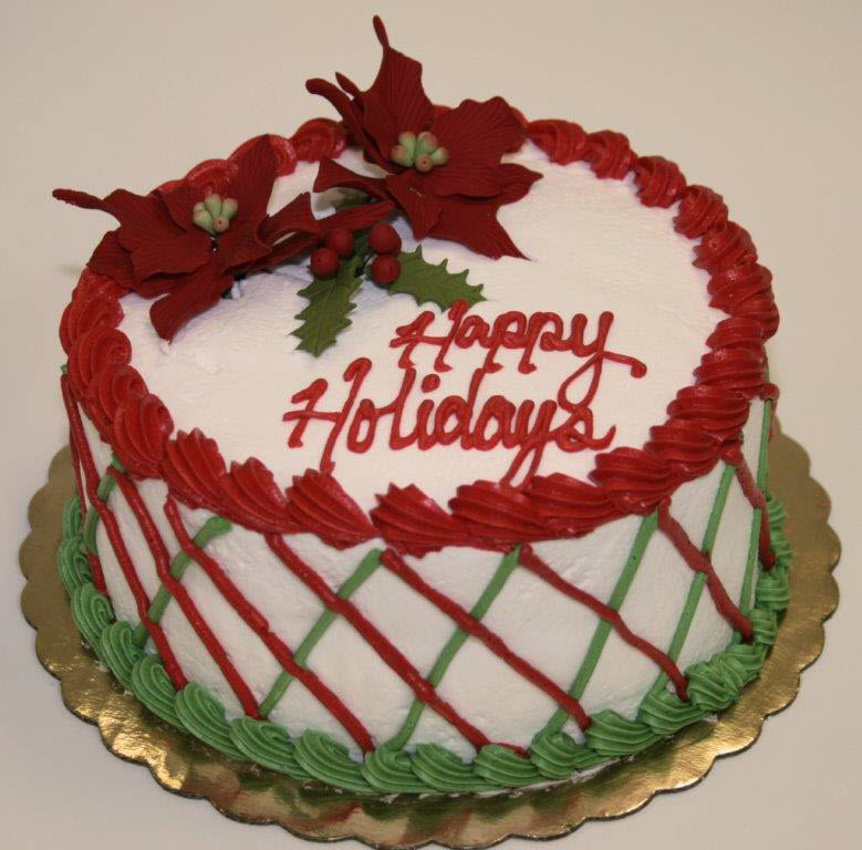 Christmas Holiday Cakes  Holiday Cakes & Cookies Philadelphia