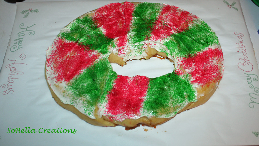 Christmas King Cakes  This is sew my life Ready for Christmas ALMOST