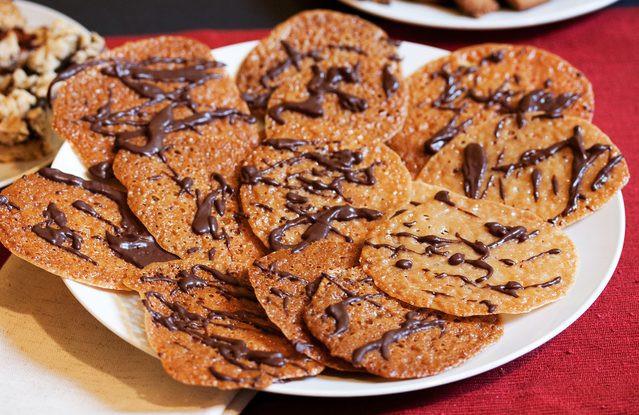 Christmas Lace Cookies  Christmas Lace Cookies Recipe