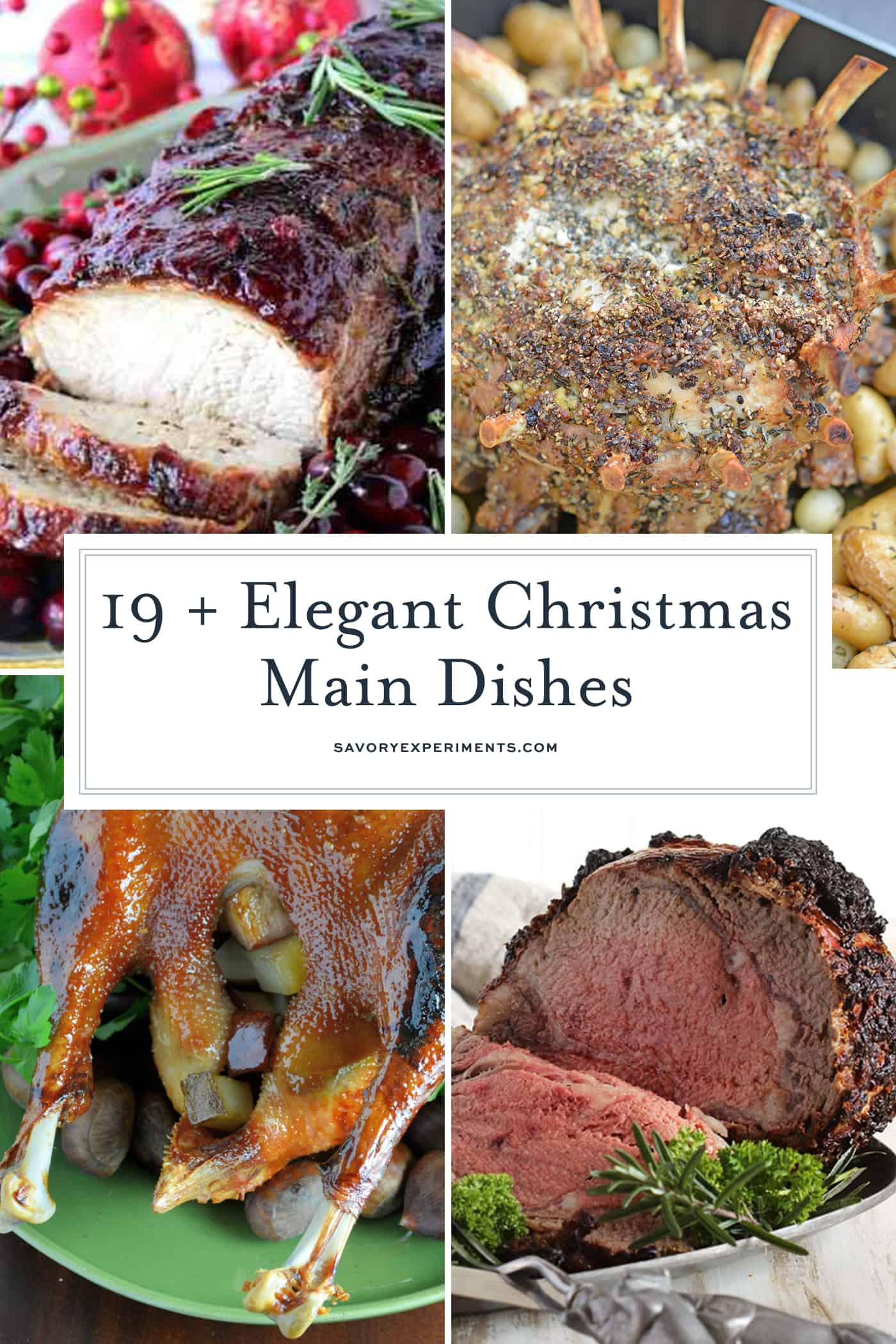 Christmas Main Dishes  Christmas Main Dishes Festive Holiday Main Dish Recipes