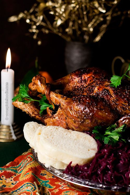 Christmas Main Dishes Recipes  Czech Roasted Duck Recipe by SpicieFoo