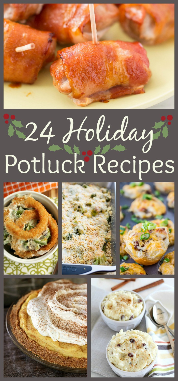 Christmas Main Dishes Recipes  24 Holiday Potluck Recipes to Wow the Crowd The Weary Chef