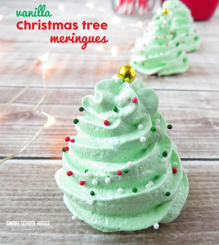 Christmas Meringue Cookies  Christmas Meringue Cookies