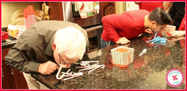 Christmas Minute To Win It Games Candy Cane  Minute to Win It Christmas Party Creative K Kids