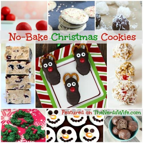 Christmas No Bake Cookies  101 Christmas Cookie Recipes