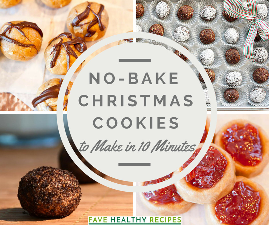 Christmas No Bake Cookies  No Bake Christmas Cookies 14 Recipes to Make in Under 10