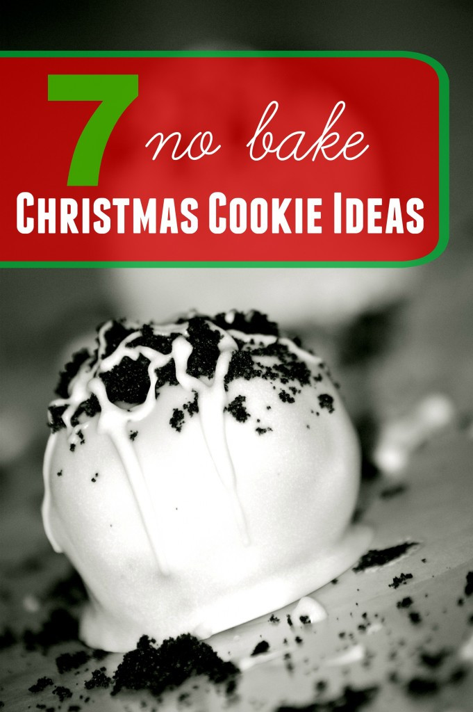 Christmas No Bake Cookies  7 No Bake Christmas Cookies What Mommy Does