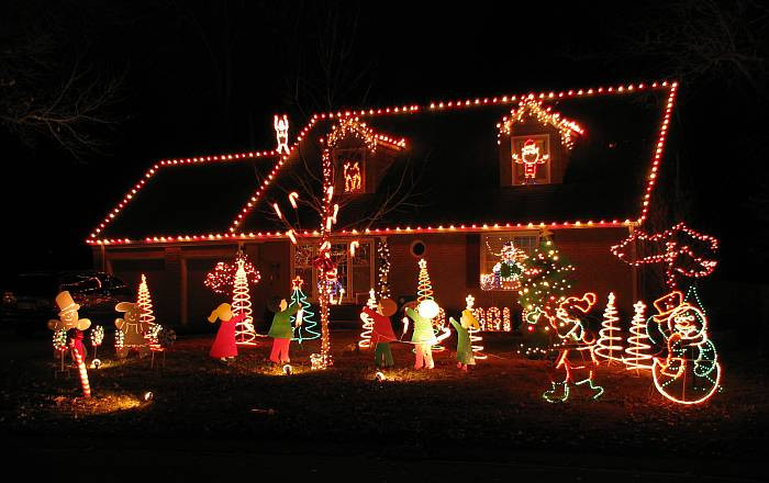 Christmas On Candy Cane Lane  Candy Cane Lane Prairie Village Kansas