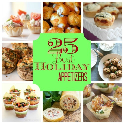 Christmas Party Appetizers Finger Foods  25 Best Holiday Appetizers Construction Haven Home