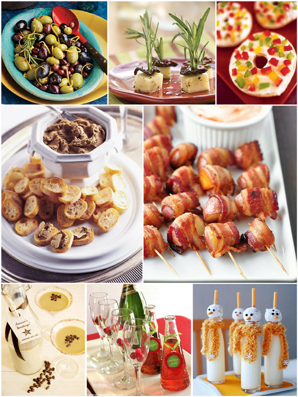 Christmas Party Appetizers Finger Foods  Christmas Party Easy Appetizers and Holiday Cocktails