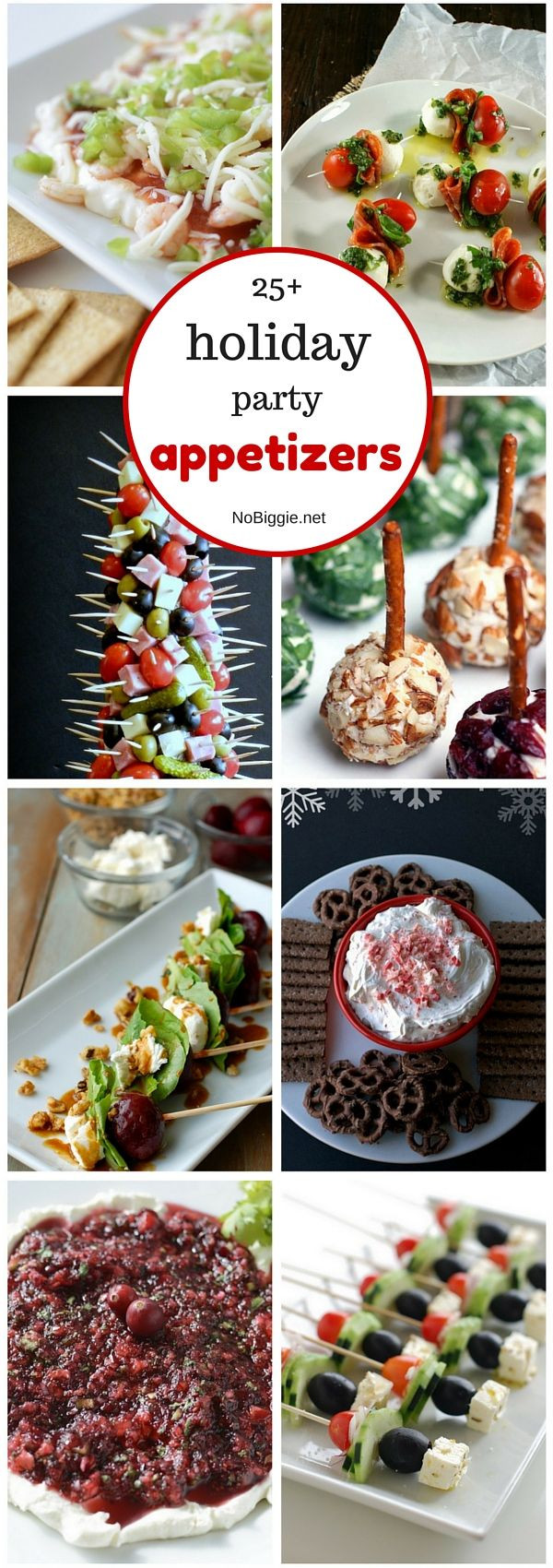 Christmas Party Appetizers Finger Foods  25 holiday party appetizers NoBiggie Roundups