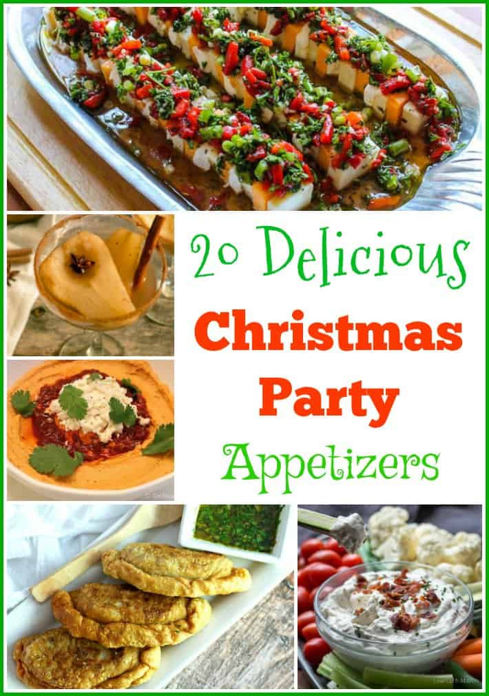 Christmas Party Appetizers Pinterest  20 Delicious Christmas Party Appetizers