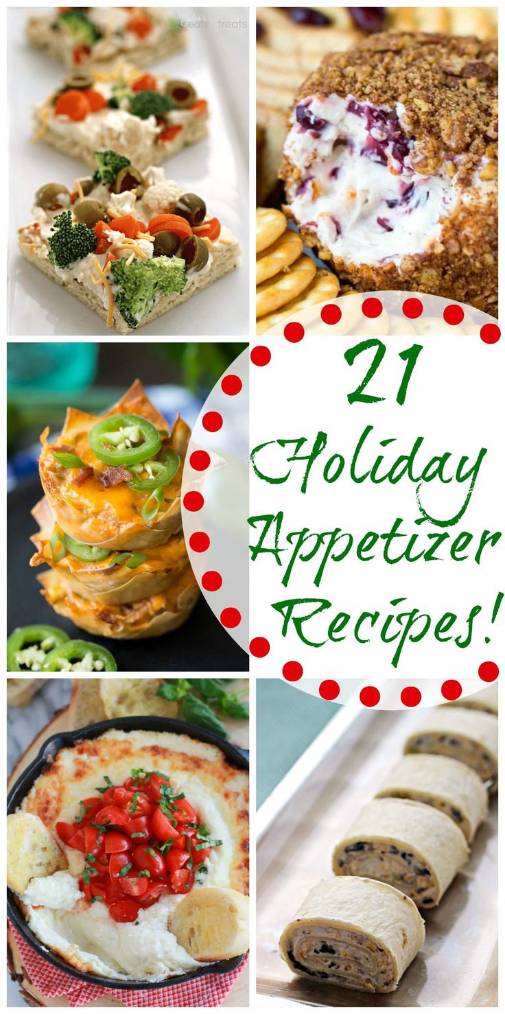 Christmas Party Appetizers Recipes  27 best images about Appetizers on Pinterest