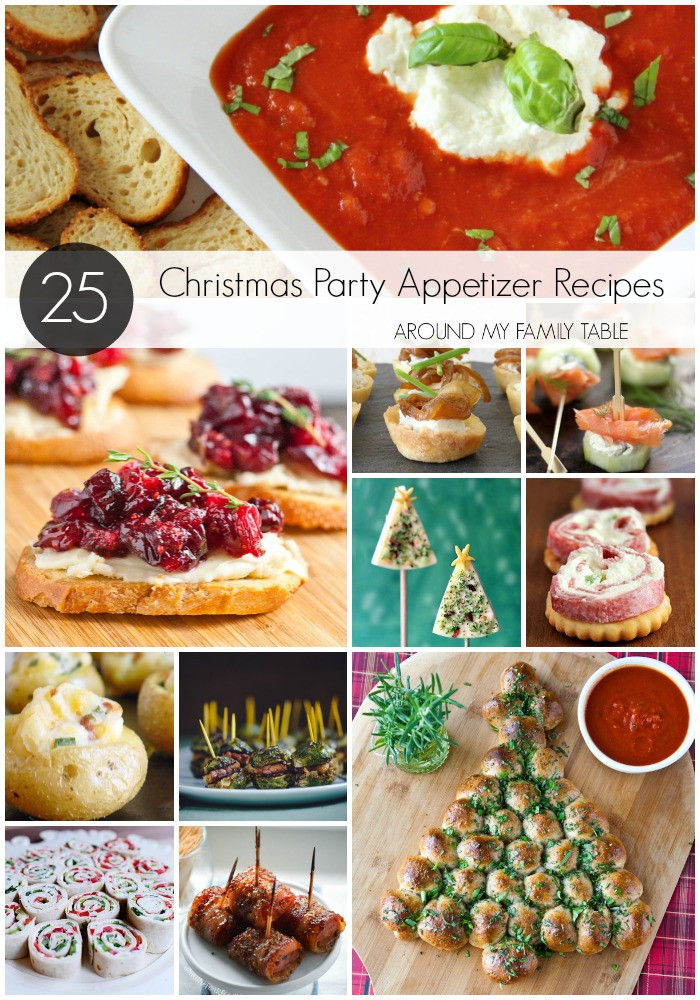 Christmas Party Appetizers Recipes  Christmas Party Appetizer Recipes Around My Family Table