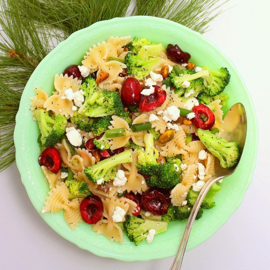 Christmas Pasta Salad  Christmas Pasta Salad