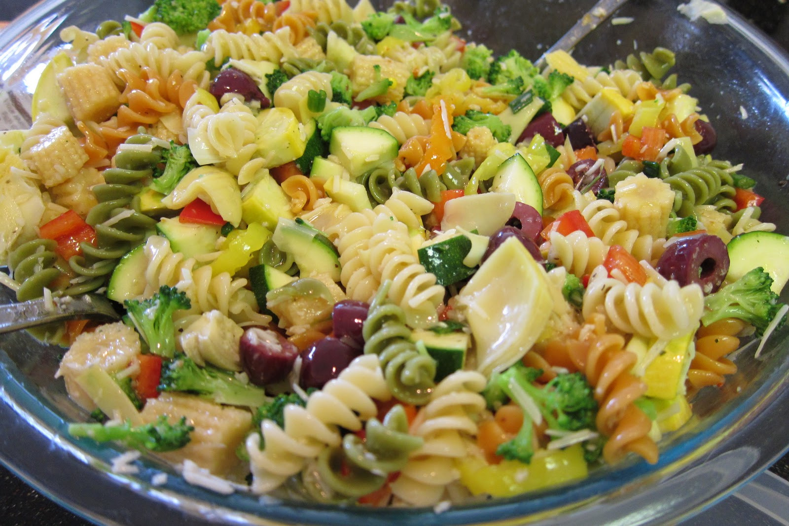 Christmas Pasta Salad  Mrs Duensing's Pasta Salad – PheNOMenal