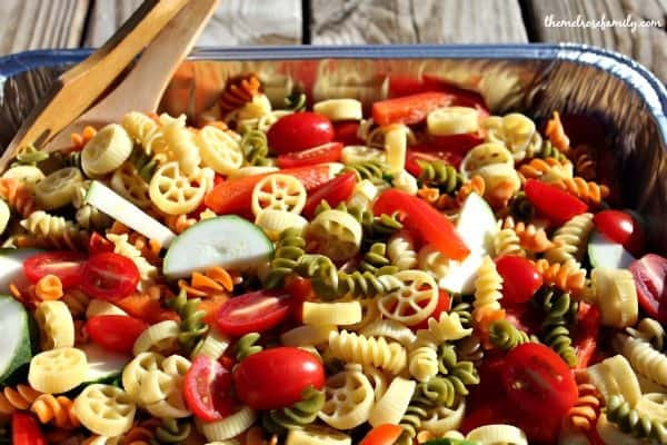 Christmas Pasta Salad  Christmas Pasta Salad The Melrose Family