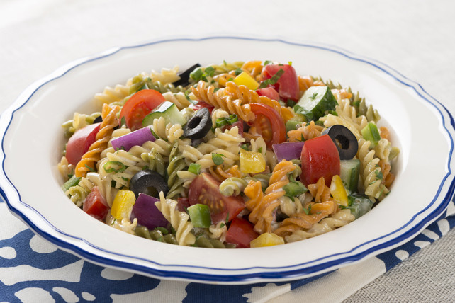 Christmas Pasta Salad  Greek Holiday Pasta Salad