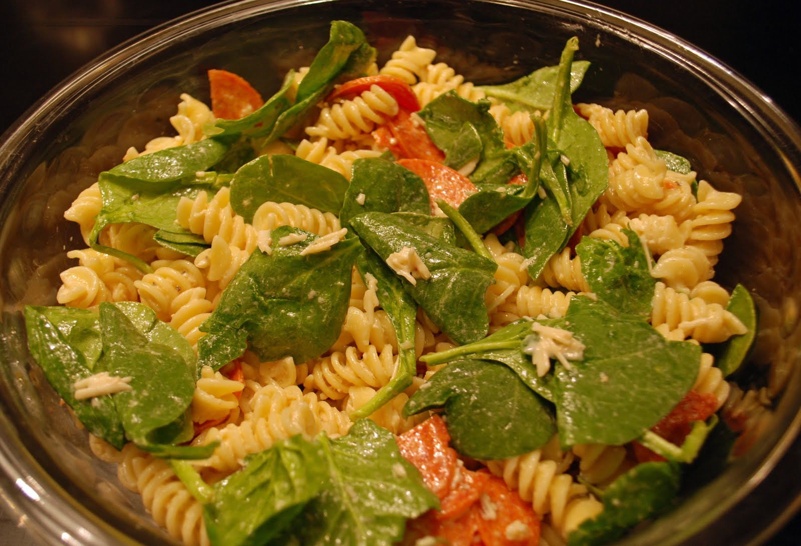 Christmas Pasta Salad  Not So Secret Family Recipes Christmas Pasta Salad