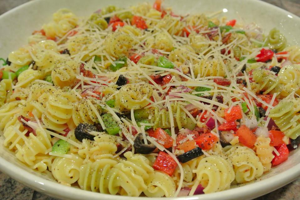 Christmas Pasta Salad  Christmas Pasta