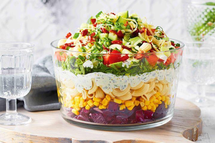 Christmas Pasta Salad  Christmas salads