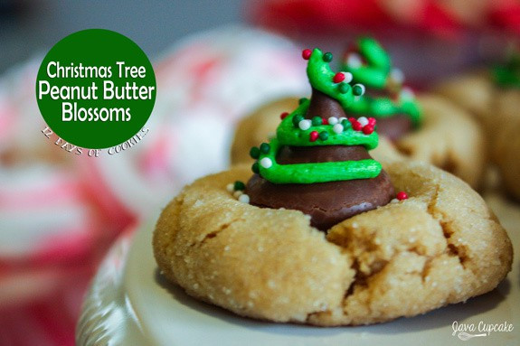 Christmas Peanut Butter Cookies  12 Days of Cookies Day 2 Christmas Tree Peanut Butter