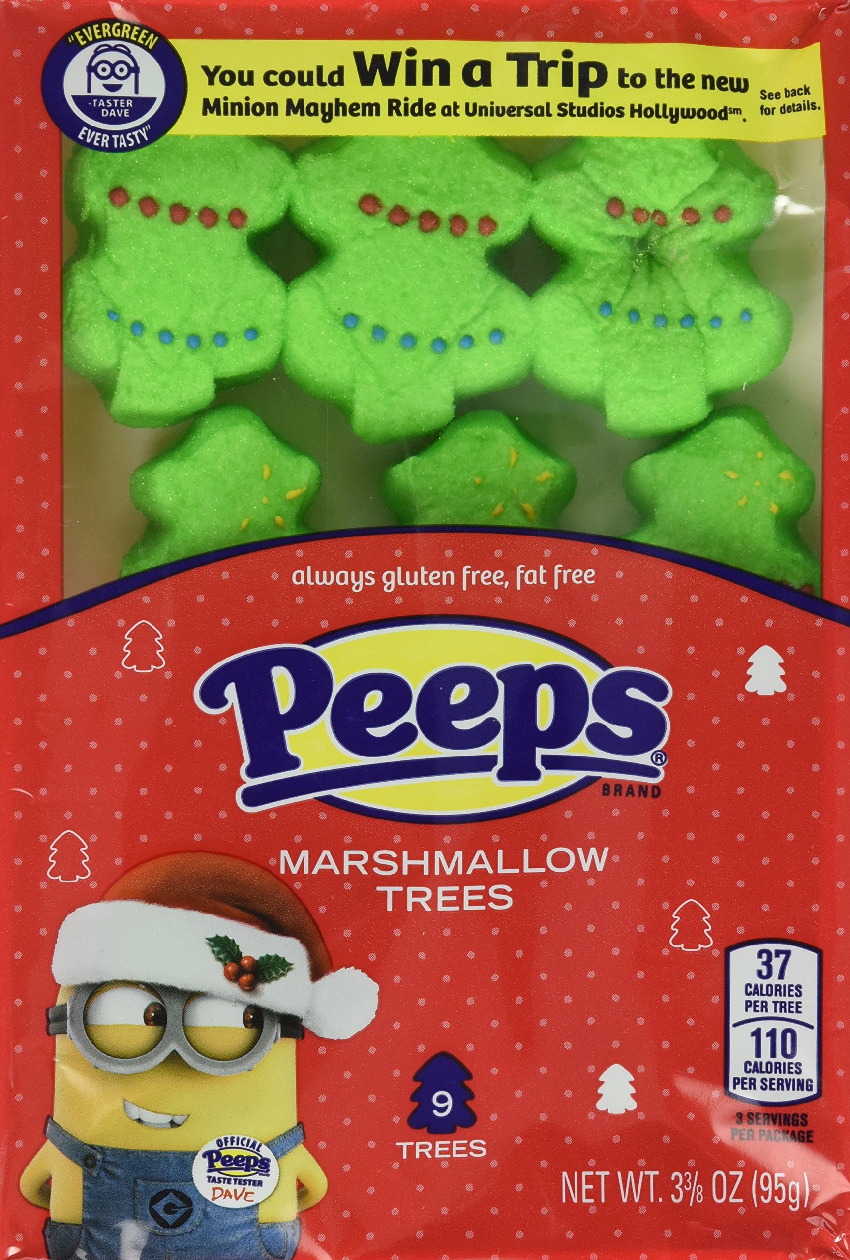 Christmas Peeps Candy  Amazon Gingerbread Flavored Marshmallow Peeps