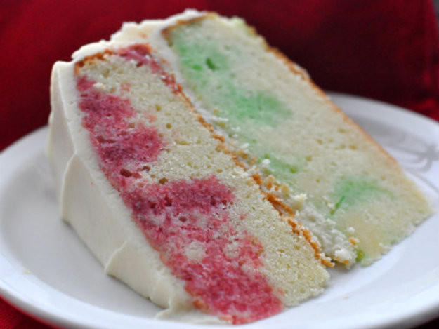 Christmas Poke Cakes  Holiday Jell O Poke Cake Recipe