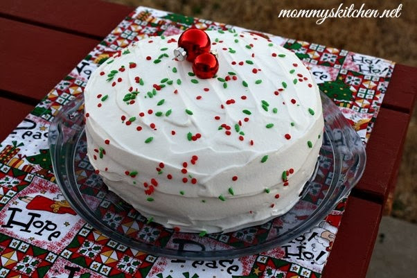 Christmas Poke Cakes  Mommy s Kitchen Recipes From my Texas Kitchen Vintage