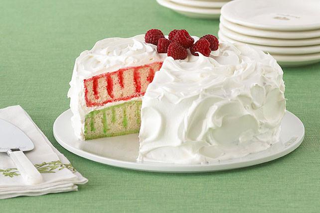 Christmas Poke Cakes  Red and Green Holiday Poke Cake Kraft Recipes