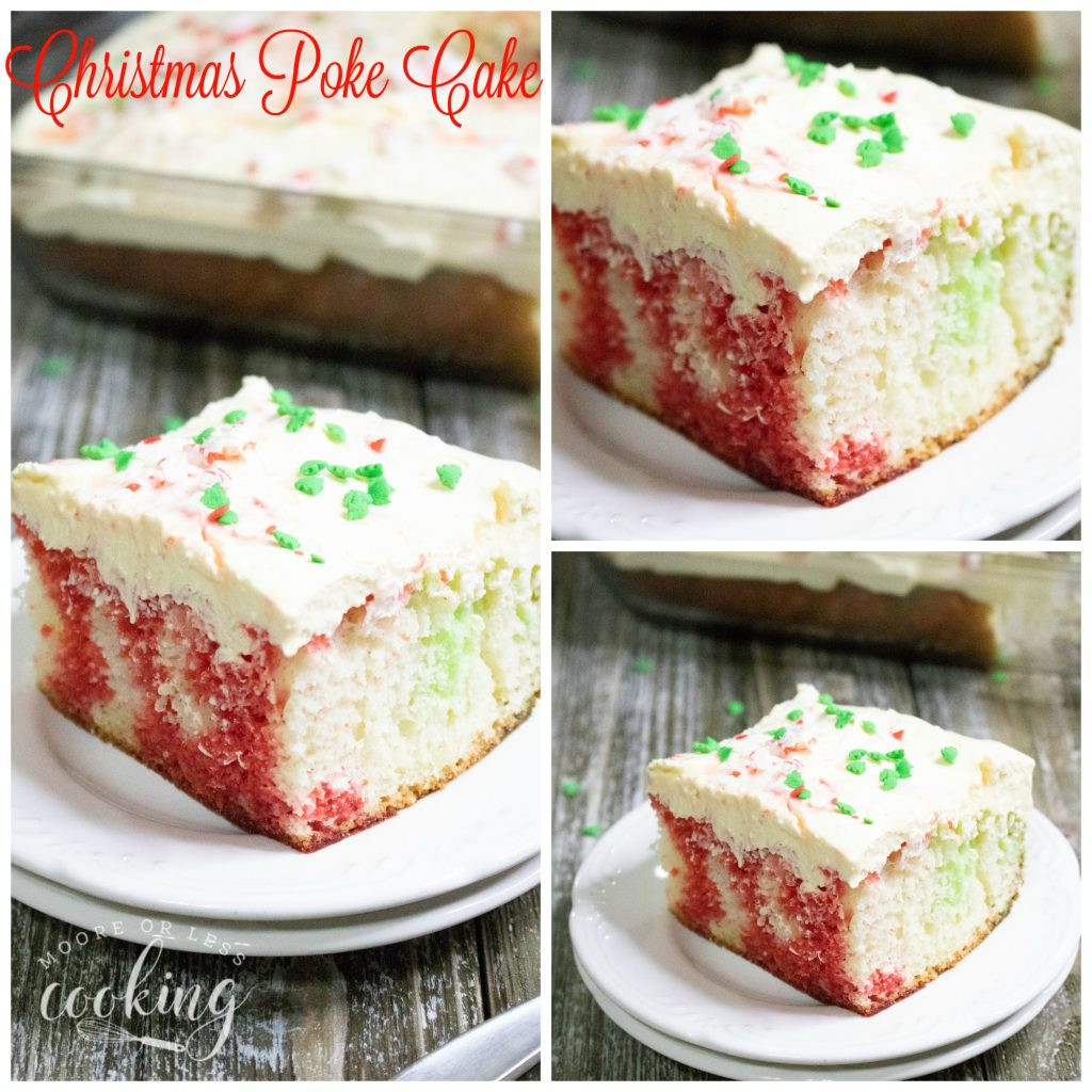 Christmas Poke Cakes  Christmas Poke Cake