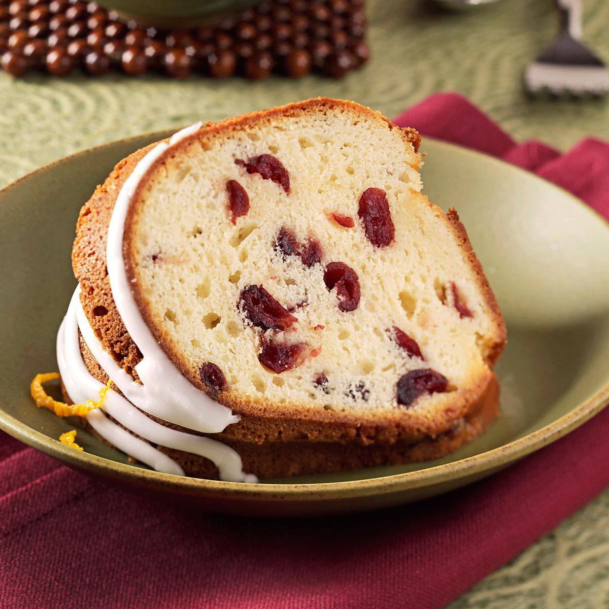 Christmas Pound Cake Recipe  Grand Marnier Cranberry Pound Cake Recipe